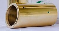 Насадка на глушитель для Passat (B6,B7,CC) Gold Edition.