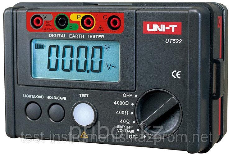 Измеритель сопротивления заземления UNI-T UT522. Внесен в реестр СИ РК
