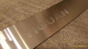 Накладка на задний бампер VW Tiguan (2007+)