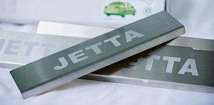 Накладки на пороги для Volkswagen Jetta 2011+