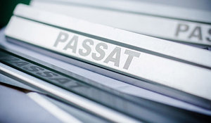 Накладки на пороги для Volkswagen Passat B6