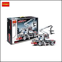 Детский конструктор Автоподъемник Decool 3350 Bucket Truck, 592 детали , фото 1