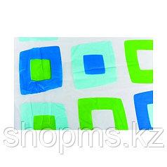 Штора для ванной 002Е-42 (квадраты) 1,8*1,8