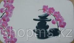 Коврик для ванны нейлон розовые камни CDB651MА 45*75