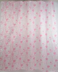 Штора для ванной 020А-21(розовая)
