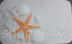 Коврик для ванны нейлон ракушки CDB521MА-1 45*75