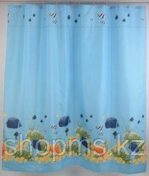 Штора для ванной 022А-45 (рыбки)