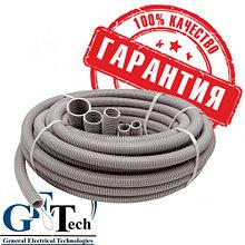 Труба гофра д.16-63  с протяжкой (ПВХ гофрированная для кабеля)