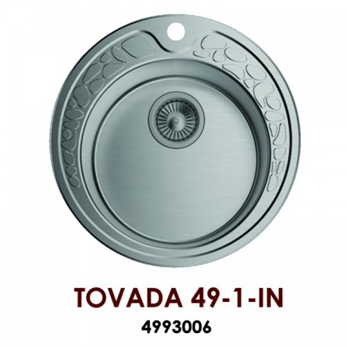 Кухонная мойка OMOIKIRI Tovada 49-1-IN 4993006