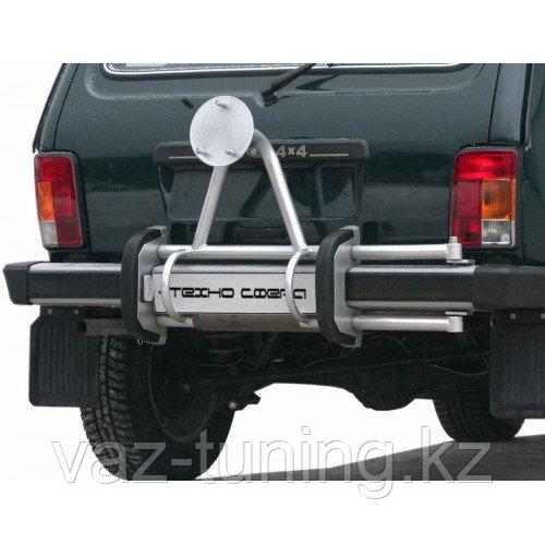 Кронштейн запасного колеса под фаркоп, боковой. Лада Нива 2121-21213-21214