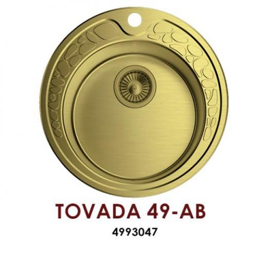 Кухонная мойка OMOIKIRI Tovada 49-1-AB 4993047
