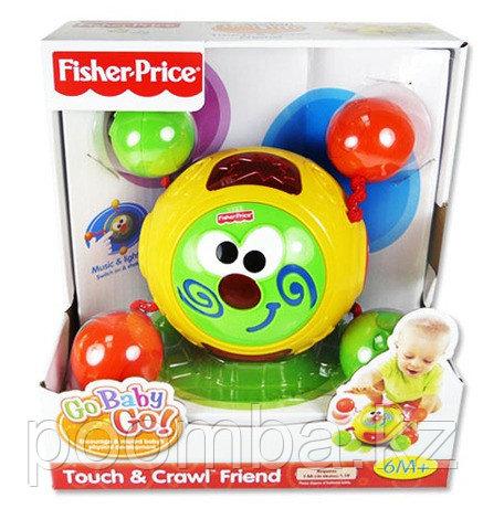 """Детская игрушка Fisher-Price Музыкальная игрушка Колобок """"Ползи за мной"""""""