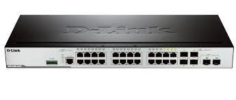 D-LinkКоммутаторDGS-3000-28SC/A1AУправляемый стекируемый коммутатор 2 уровня с 20 портами 100/1000Base-X SFP,