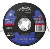 Круг отрезной 125х1,0х22 Metal Speed 41