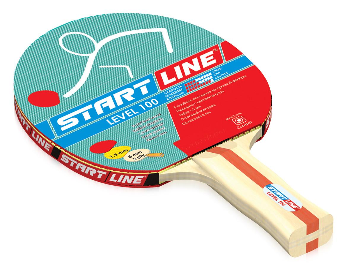 Теннисная ракетка Start line Level 100 (анатомическая)