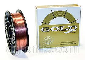 Проволока GOLD G3Si1 ф 0,8 мм D 300 ( 15 кг.)