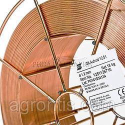 OK Autrod 12.51 ESAB сварочная омедненная проволока диам. 0,8 мм \ 18 кг ( метал. катушка )