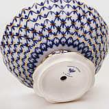 Ваза для конфет Кобальтовая сетка. Императорский фарфор, Санкт-Петербург, фото 2