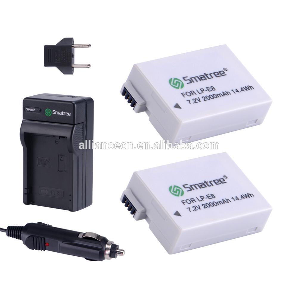 Комплект аккумуляторов LP-E8 Smatree®