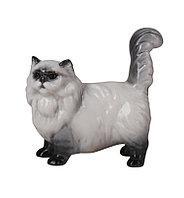 Фарфоровая статуэтка Персидский кошка Патрисия. Императорский фарфор