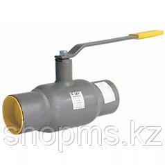 Кран шаровой LD КШЦП из стали 20 Ду125/100 Ру2.5 МПа