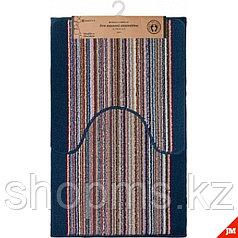 """21085 Комплект ковриков Vortex для ванной""""Baden""""50*80см и туал.50*50 ПВХ основа"""
