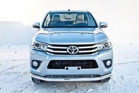 Защита передняя D 76,1 Toyota Hilux Revo 15+