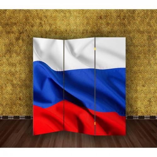 """Ширма """"Флаг. Россия"""" 150х160см"""