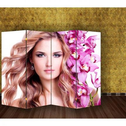 "Ширма ""Девушка с орхидеями"" 200х160см   1997360, фото 2"