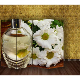 "Ширма ""Белые цветы"" 200х160см   1997368"