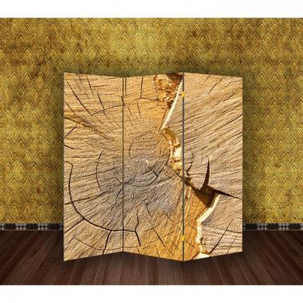 """Ширма """"Спил деревянный"""" 150х160см, фото 2"""