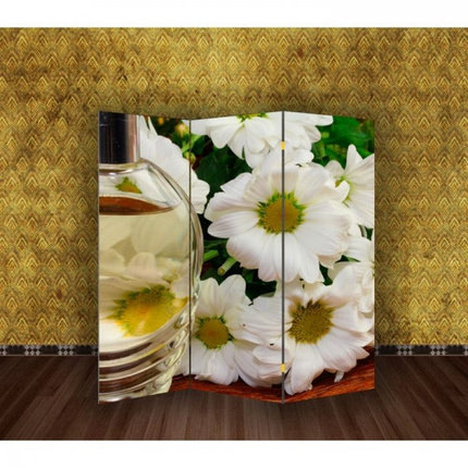 "Ширма ""Белые цветы"" 150х160см, фото 2"