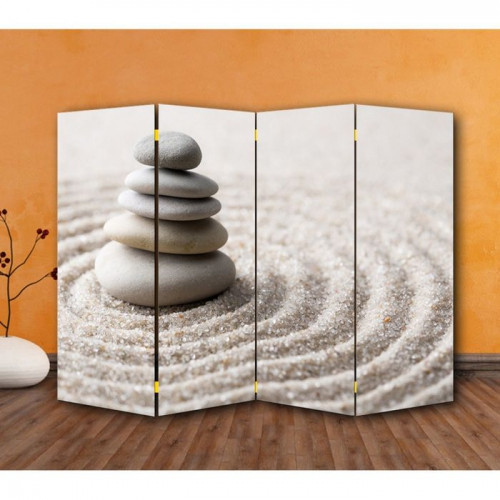 """Ширма """"Камни на песке"""" 200х160см"""