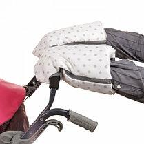 """Санки-коляска """"Ника детям 7-3/5"""", цвет: скандинавский розовый, принт, фото 3"""