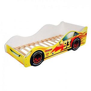Кровать машина «Тачка жёлтая», фото 2