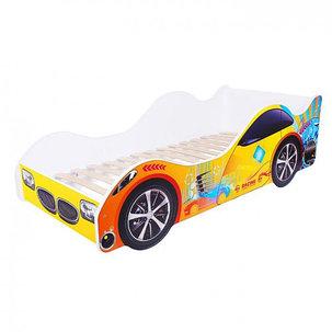 Кровать-машина «Энергия», цвет жёлтый, фото 2