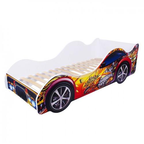 Кровать-машина «Красно-жёлтый дракон»