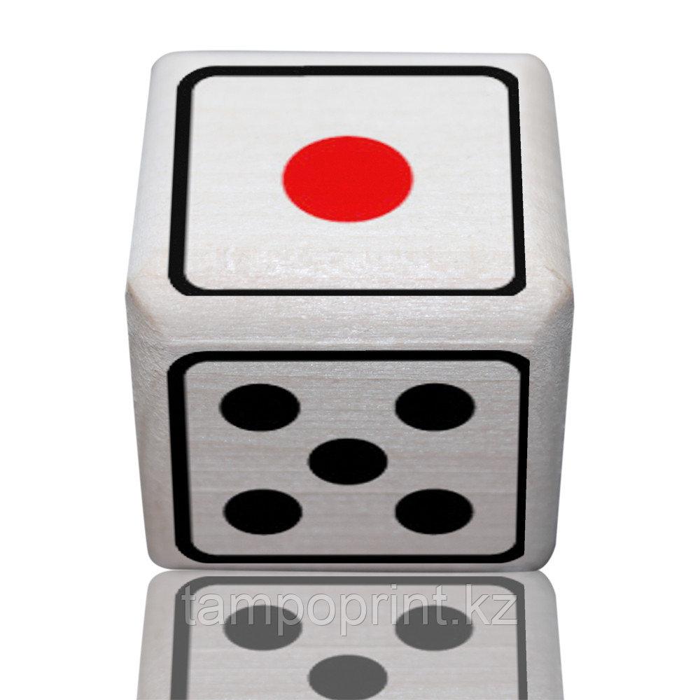 Кубик сувенирный DS018 липа натуральная