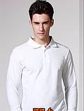 Рубашки, футболки ПОЛО с ДЛИННЫМ рукавом. Мужские и женские. Производство- Индия. Делаем печать логотипа, фото 2