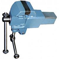 Тиски слесарные, 63 мм, крепление для стола, винтовой зажим (Глазов) СИБРТЕХ 18660 (002)