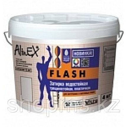 Затирка AlinEX FLASH 4 кг/банка(супер белая, для швов плитки), фото 2