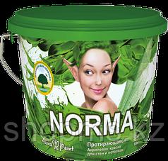 Краска водоэмульсионная Alina Paint NORMA / 3 кг протирающ.