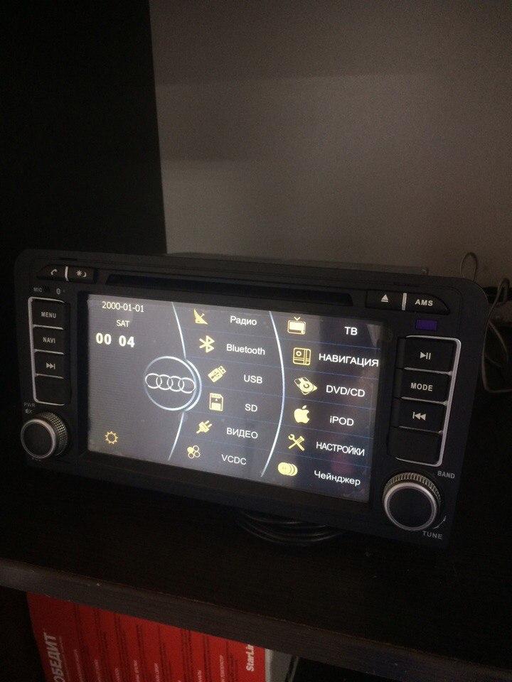 Штатное головное устройство Audi A3