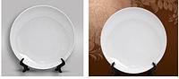 Тарелка белая сублимационная. Для сублимационной печати