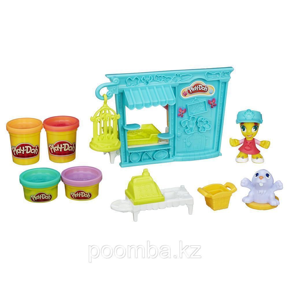 """Play-Doh Town (Город) """"Магазинчик домашних питомцев"""""""