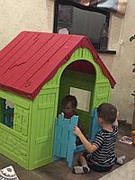 Игровой дом Keter Foldable складной 17202656 Зеленый-красный, фото 1