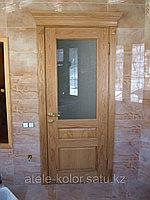 Дверь нестандартная межкомнатная массив