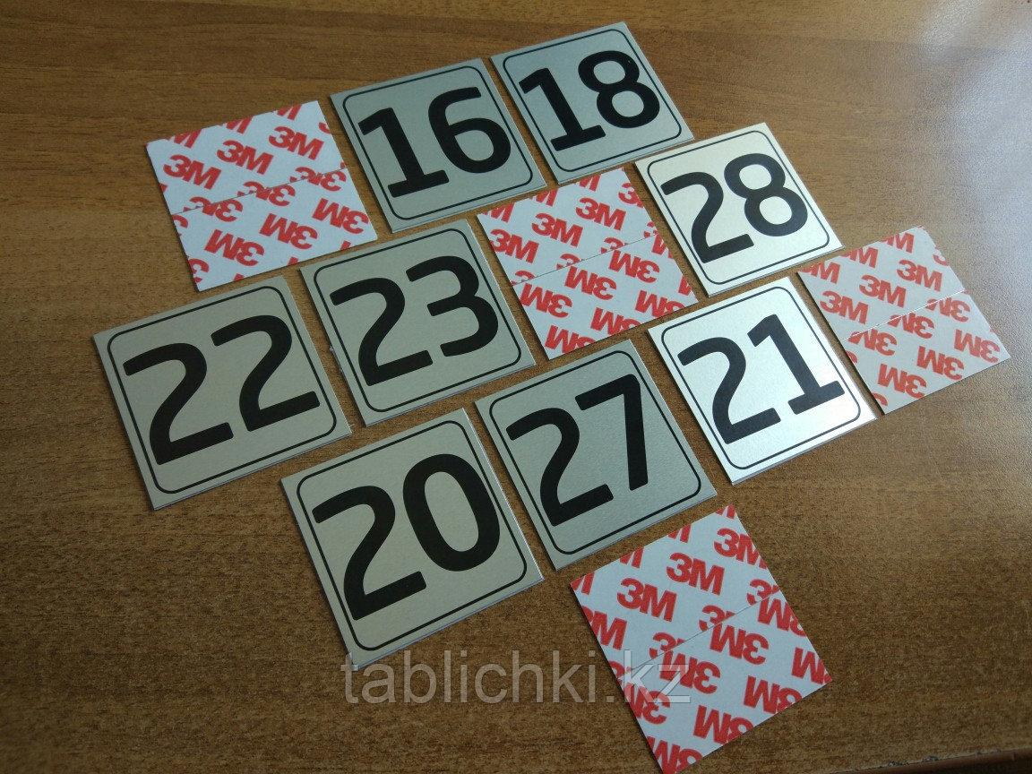 Металлические номерки на почтовые ящики