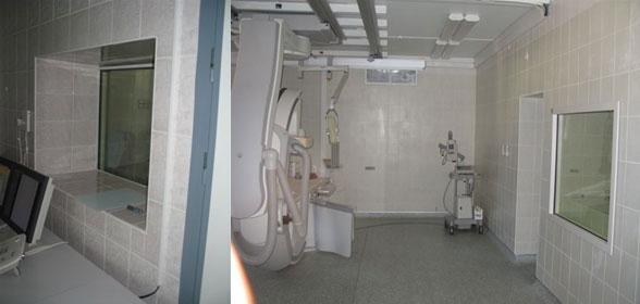 Окна рентгенозащитные 2.0-2.5 Pb