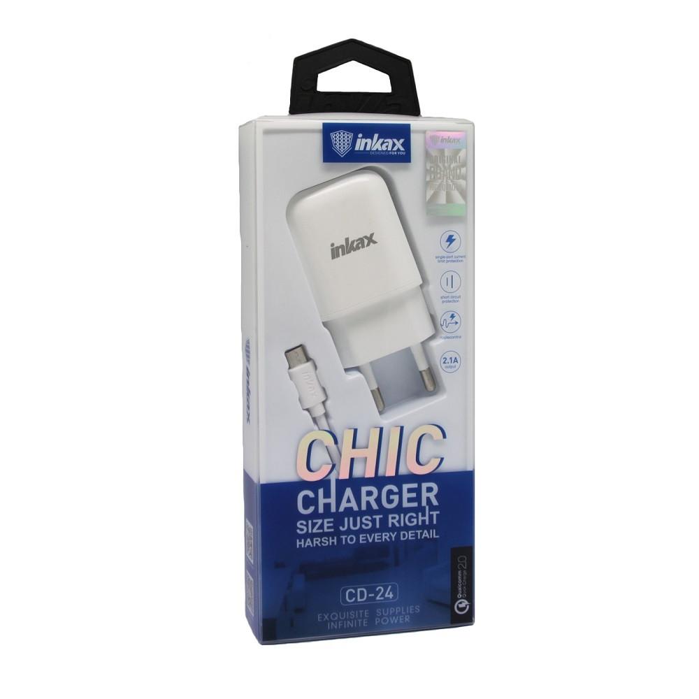 Зарядное устройство INKAX CD-24 Micro USB 2.1A